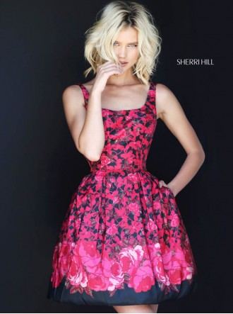 50933 - Black/Red (Sherri Hill)