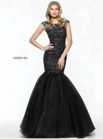 50955 - Black (Sherri Hill)