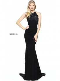50982 - Black (Sherri Hill)