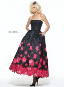 51056 - Black/Red (Sherri Hill)