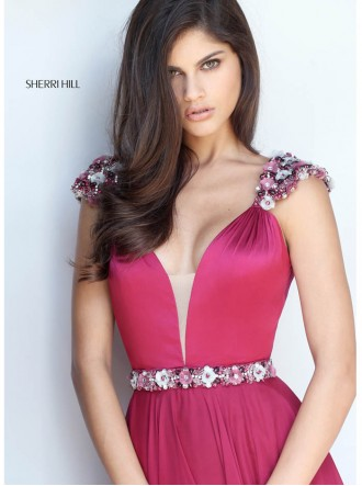 51137 - Wine (Sherri Hill)