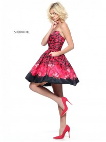 51179 - Black/Red (Sherri Hill)