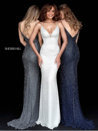 50860 - Navy (Sherri Hill)