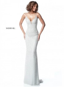 50860 - Silver / Blush (Sherri Hill)
