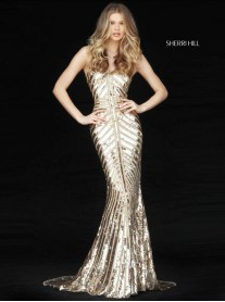 51206 - Gold (Sherri Hill)