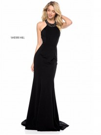 51317 - Black / Navy (Sherri Hill)