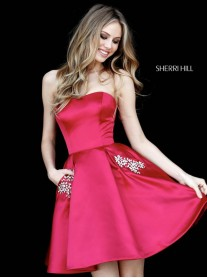 51390 - Wine (Sherri Hill)