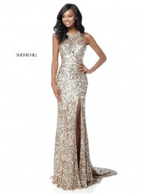51430 - Gold (Sherri Hill)
