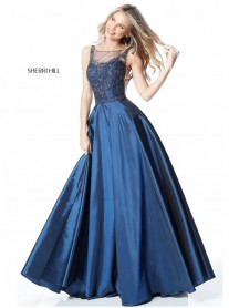 51478 - Navy (Sherri Hill)