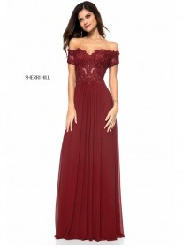 51556 - Burgundy (Sherri Hill)