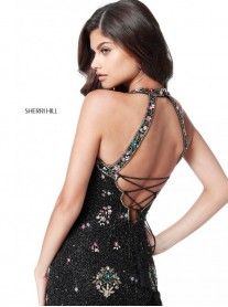 51661 - Black/Multi (Sherri Hill)