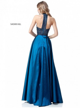 51690 - Peacock (Sherri Hill)