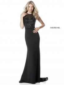 51697 - Black (Sherri Hill)