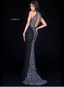 51739 - Black/Multi (Sherri Hill)