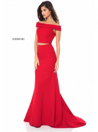 51757 - Red / Black (Sherri Hill)