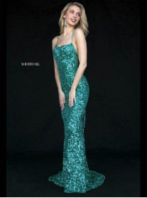 51783 - Seafoam / Light Blue (Sherri Hill)