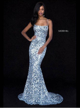 51783 - Light Blue (Sherri Hill)