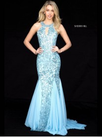 51787 - Raspberry (Sherri Hill)