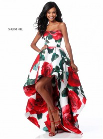 51816 - Red Print (Sherri Hill)