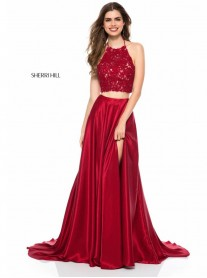 51843 - Ruby / Red (Sherri Hill)