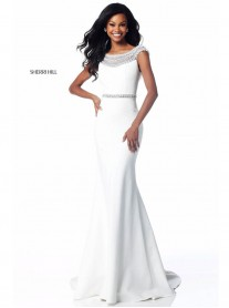 51915 - Black/Ivory (Sherri Hill)