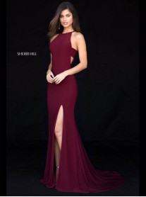51947 - Wine / Teal (Sherri Hill)