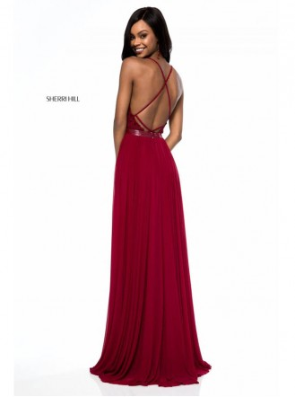 52034 - Wine (Sherri Hill)