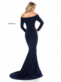 52041 - Navy (Sherri Hill)