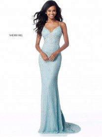 51751 - Light Blue/Multi (Sherri Hill)