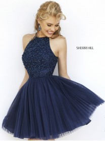 32335 - Navy (Sherri Hill)