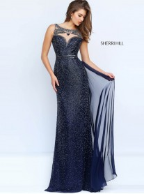 11289 - Navy/Gunmetal (Sherri Hill)