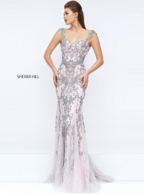 50276 - Grey/Pink (Sherri Hill)