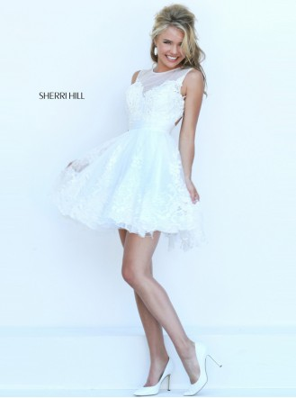 50311 - White (Sherri Hill)