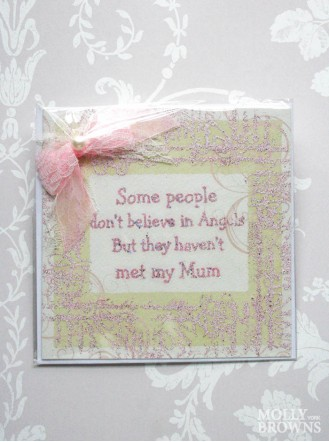 They Haven't Met My Mum - Decorated Greetings Card
