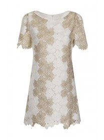 SS503 Jane Shift Dress - Ivory (Soma London)