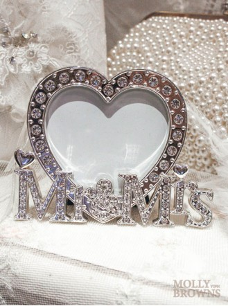 Mr Amp Mrs Photo Frame