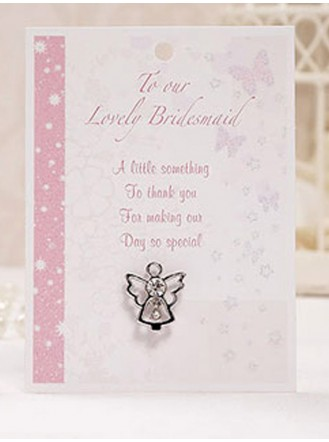 Bridesmaid Angel Pin