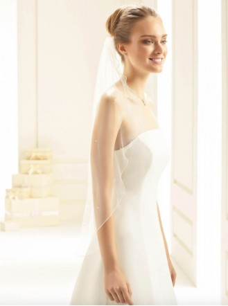 Wedding Veil 2G - Elbow Length (Ivory)