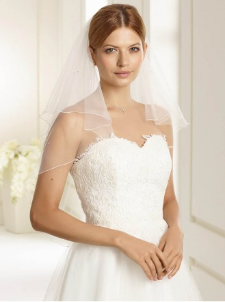 Wedding Veil 2D - Elbow Length (Ivory)