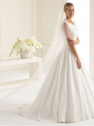 Wedding Veil 2C - Chapel Length (Ivory)