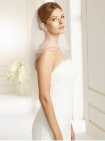 Wedding Veil 2E - Elbow Length (Ivory)