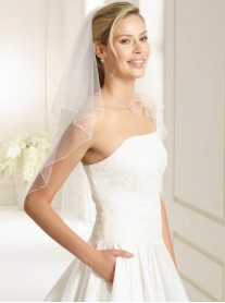 Wedding Veil R - Elbow Length (Ivory)