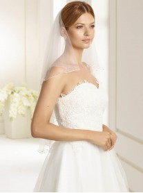 Wedding Veil S - Elbow Length (Ivory)