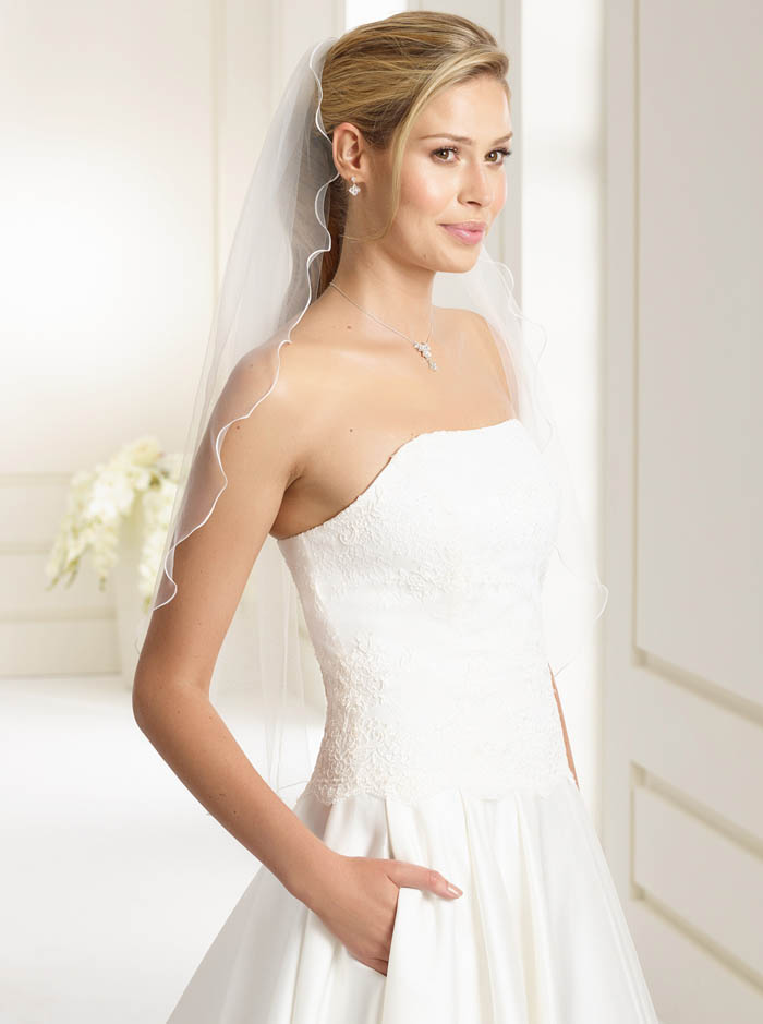 Wedding Veil T - Elbow Length (Ivory)