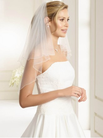 Wedding Veil O - Elbow Length (Ivory)