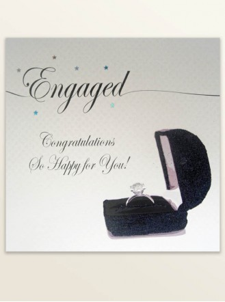 Engaged - Engagement Greetings Card