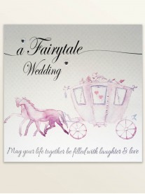 Fairytale Wedding - Wedding Greetings Card