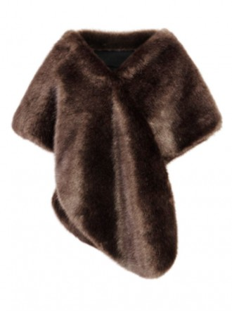 Faux Fur Stole - Treacle