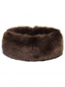 Faux Fur Huff - Treacle
