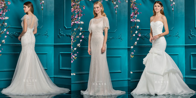 Introducing... Ellis Bridals Wedding Dresses 2018 - All New To Molly ...
